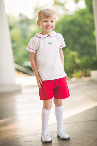 Joyful Holly Shorts Set The Proper Peony