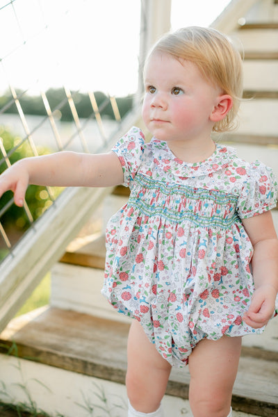 Woodsy Floral Charlotte Bubble Little English