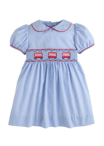 Double Decker Smocked Dress Little English
