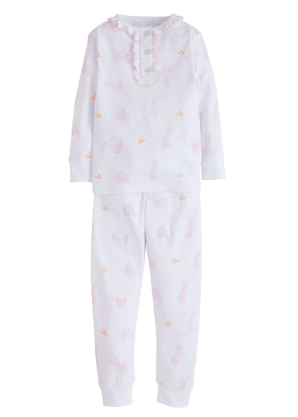 Bunny Printed Pink Jammies Little English