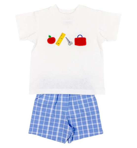 Back to School Shorts Set The Bailey Boys