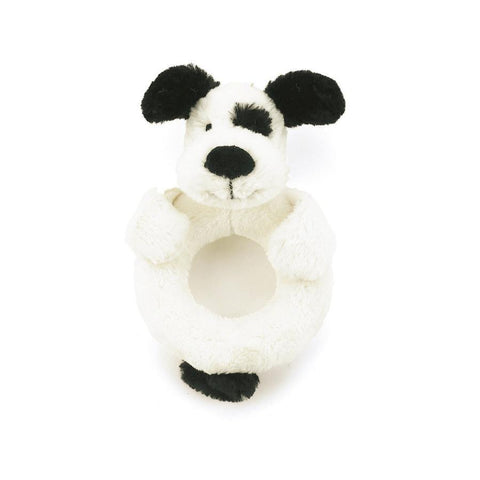 Bashful Puppy Ring Rattle Jellycat
