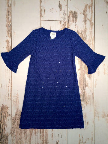 Bell Sleeve Crochet Dress Maggie Breen Too