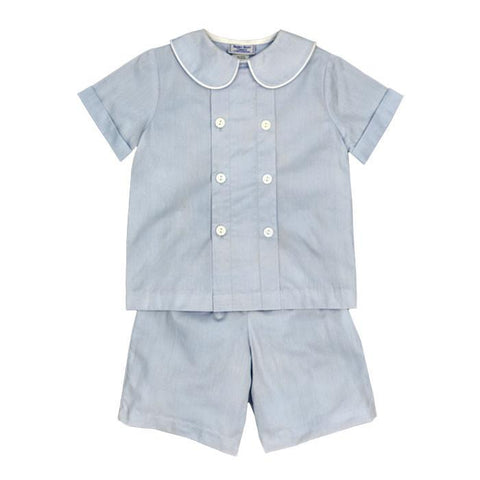 Doeskin Cotton Dressy Short Set Child Bailey Boys