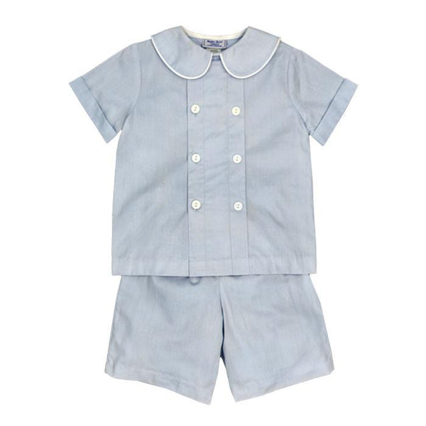 Doeskin Cotton Dressy Shorts Set Toddler Bailey Boys