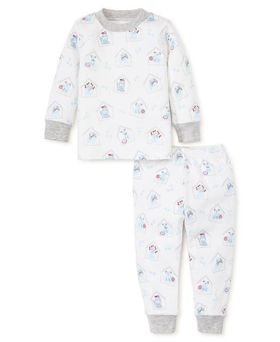 Blue Pups 2pc Pjs Kissy Kissy