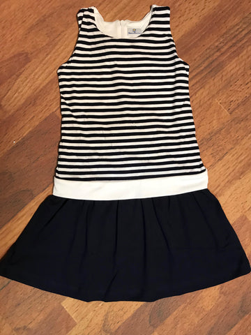 Navy Stripe Dress Florence Eiseman