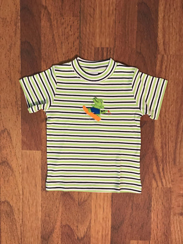 Gator Stripe S/S Tee Squiggles