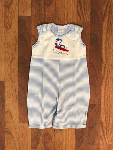 Tug Boat Sunsuit Squiggles