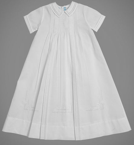 Boy's Christening Gown Tucked Bodice 5979 Feltman Brothers