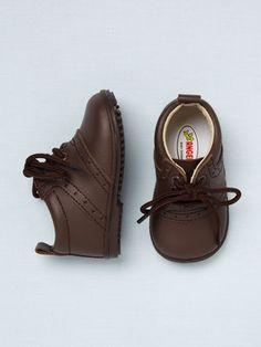 Brown leather Saddle Shoes L'Amour/Angel Shoes
