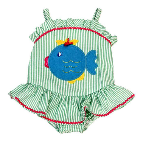 Bubble Fish Swimsuit Bailey Boys