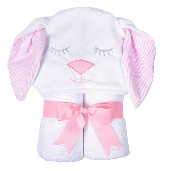Bunny Character Hooded Towels 3 Marthas