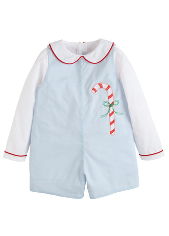 Candy Cane John John Set Little English