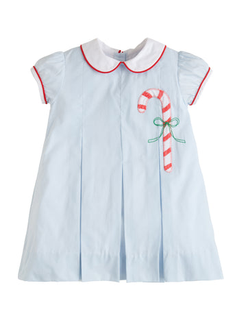 Candy Cane Pleat Dress Little English