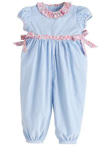 Caroline Bow Romper Little English