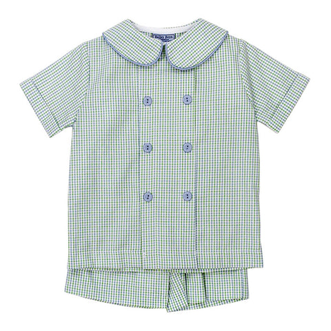 Castaway Seersucker Dressy Shorts Set Bailey Boys