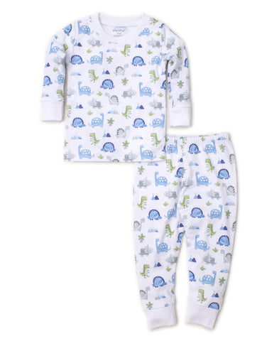 Dino Crew 2pc Pj Month Kissy Kissy