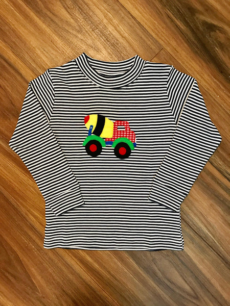 Concrete Truck L/S Toddler Tee Squiggles