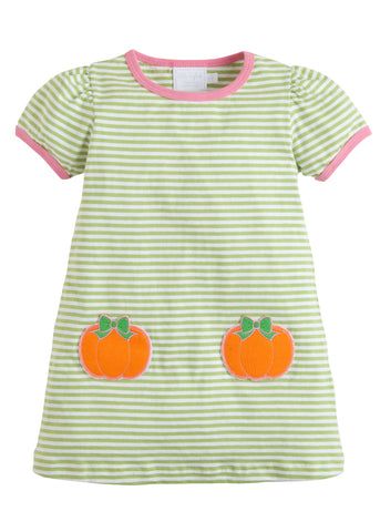 Pumpkin T-Shirt Dress Little English