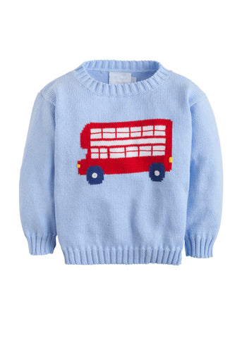 Double Decker Intarsia Sweater Little English