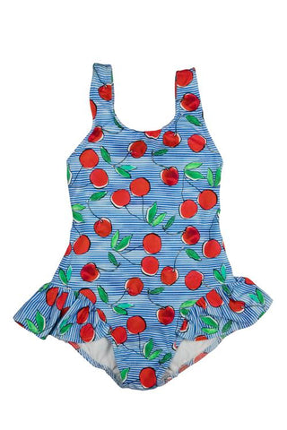 Cherry Print Swimsuit Month Sizes Florence Eiseman