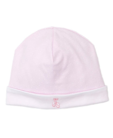 Ballet Embroidered Dot Hat Kissy Kissy