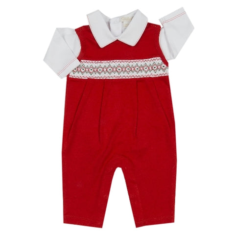 CLB Holiday Overall Set Kissy Kissy