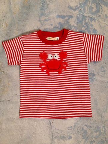 Crab Stripe S/S Tee Luigi Kids