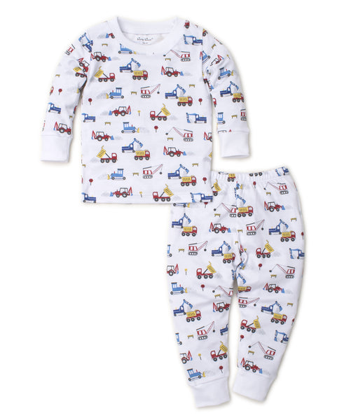 Diggers 2pc Pjs Month Kissy Kissy