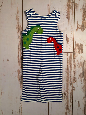 Dino Applique Knit  Longall By Zuccini