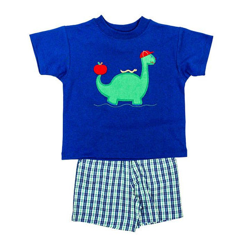 Dinosaur Shorts Set Bailey Boys