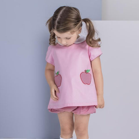Apple Girl Bloomer Set Dondolo