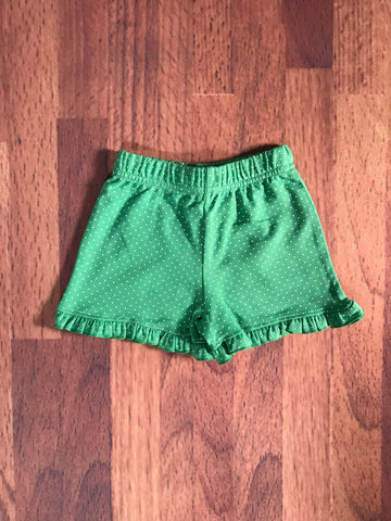 Dot Knit Ruffle BRIGHT Shorts Luigi Kids