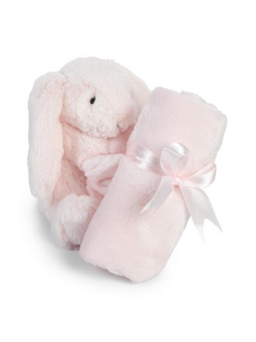 Bashful Light Pink Bunny Soother