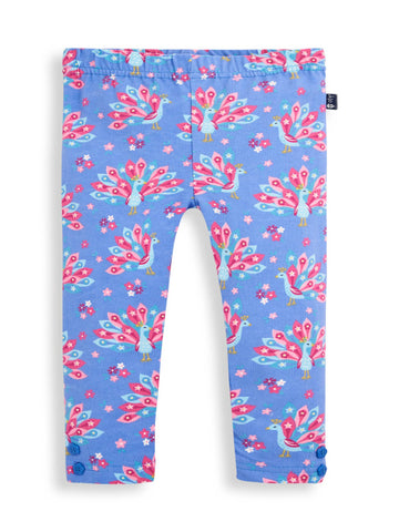 Peacock Leggings 2 Pk Jojo Maman Bebe