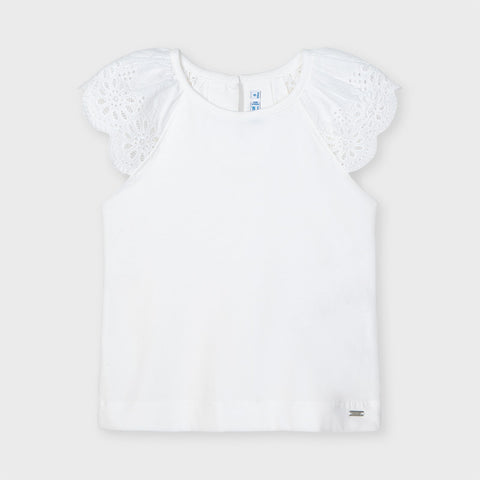 Eyelet Sleeveless Tee  Mayoral