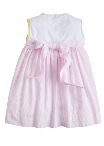 Marisa Dress Spring Tulip Little English