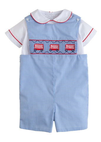 Double Decker Smocked John John Set Little English