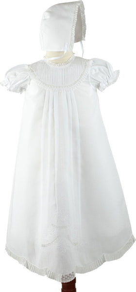 Girl's Christening Gown Set w/Bonnet Feltman Brothers