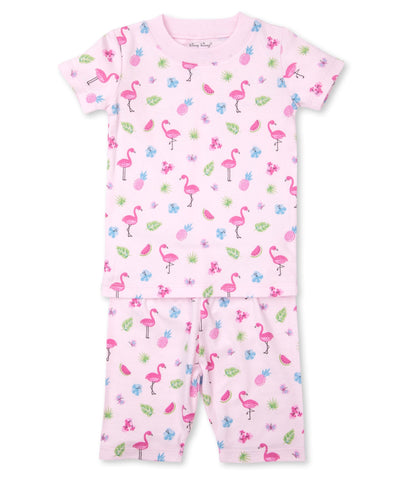 Aloha Short Pjs Toddler by Kissy Kissy
