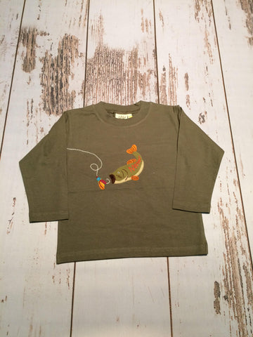 Fish & Lure L/S Tee Luigi Kids