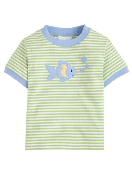 Fish Applique Tee Little English