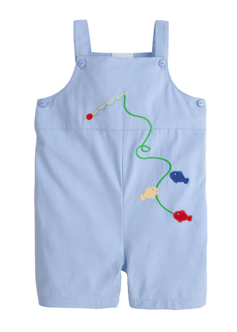 Fish Embroidered Shortall Little English