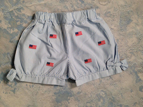 Flag Bow Shorts Luigi Kids