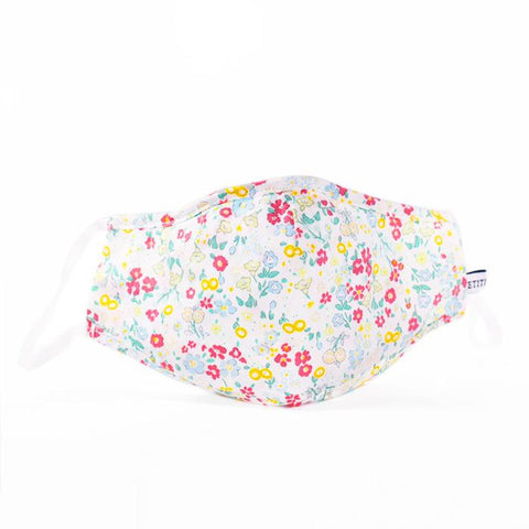 Floral Sonnet Child Face Mask Petite Plume
