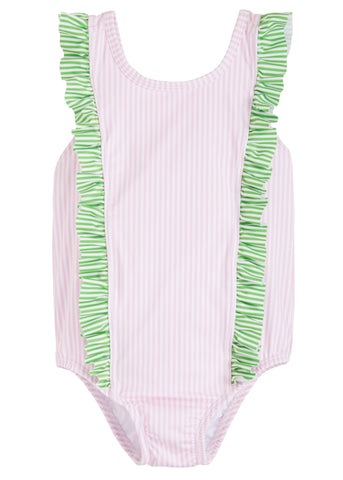 Flutter One Piece Swimsuit Little English