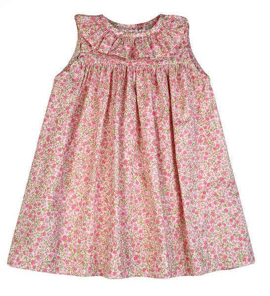 Pink Floral Ruffle Dress Funtasia Too