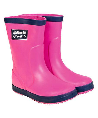 Solid Wellies Rain Boots Girls Jojo Mama Bebe