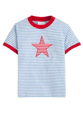 Star Applique Tee Little English